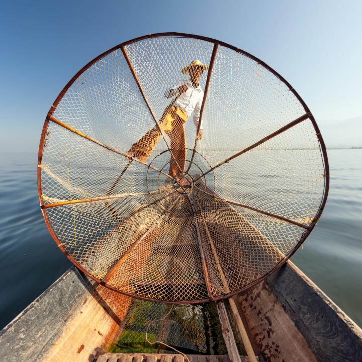 Jezioro Inle – Rybak