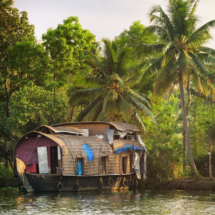 Kanały wodne Kerali