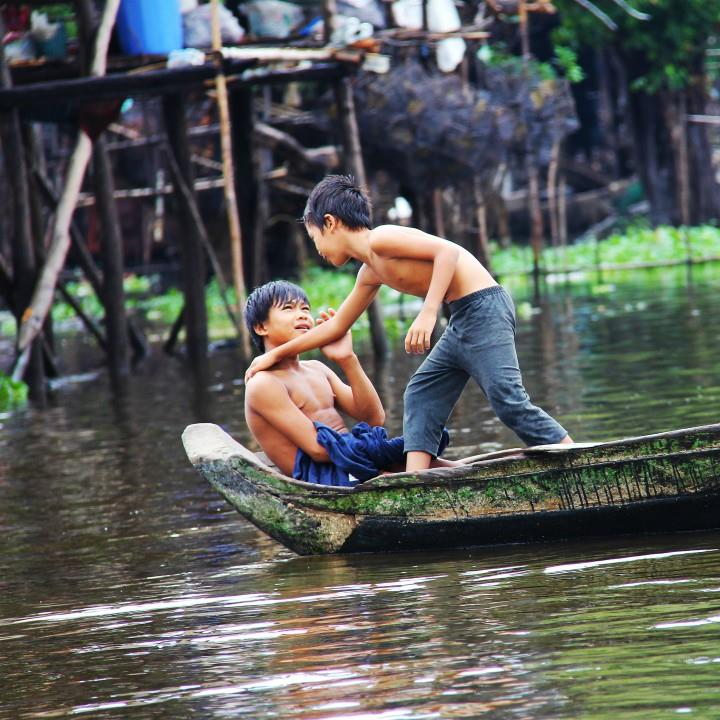 Pływające wioski