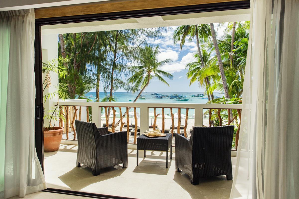 Villa Caemilla Beach Boutique Hotel – Balkon