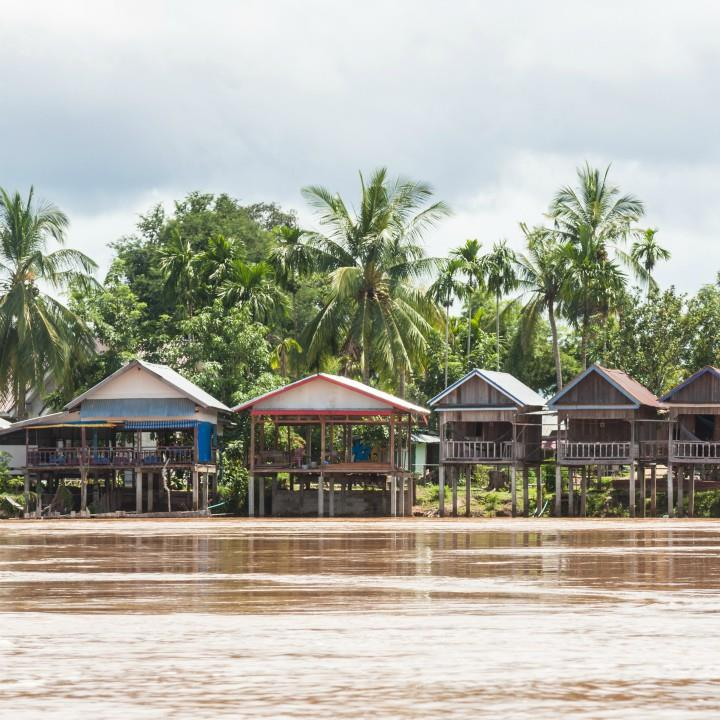 Wyspy na Mekongu