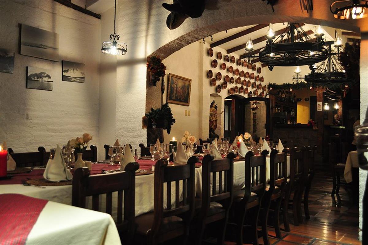 Hacienda Abraspungo – Restauracja