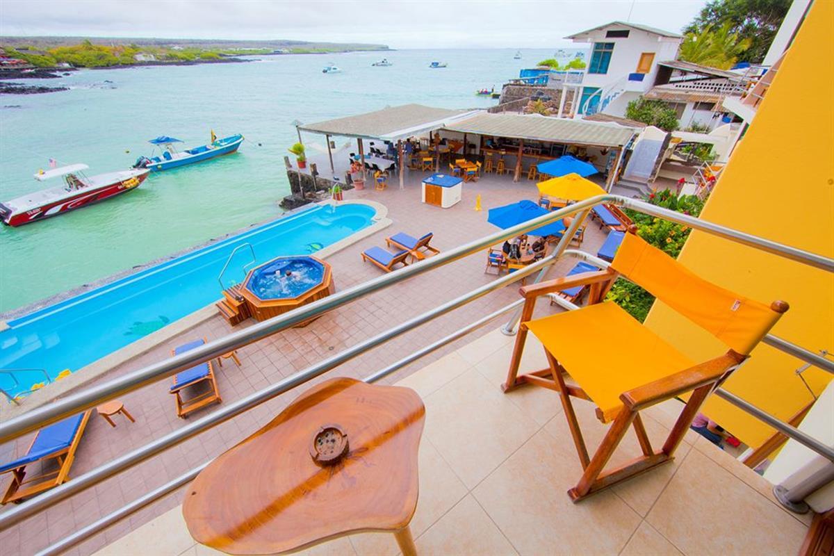 Hotel Solymar – Balkon