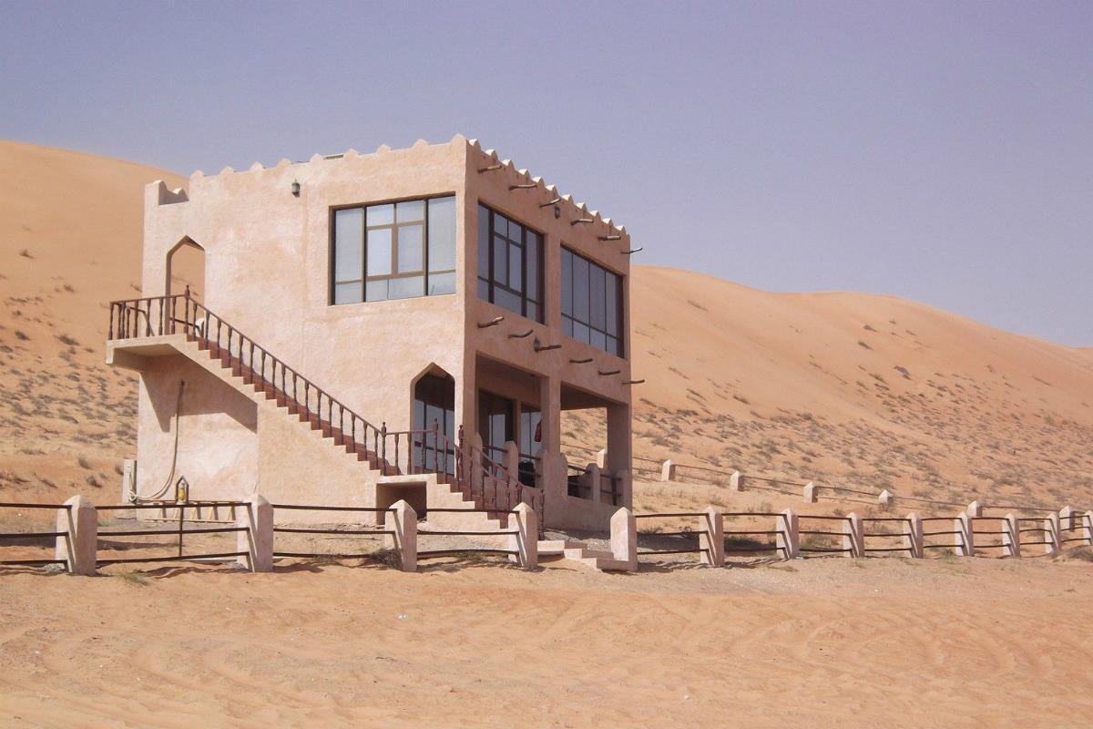 1000 Nights Camp – Sand House