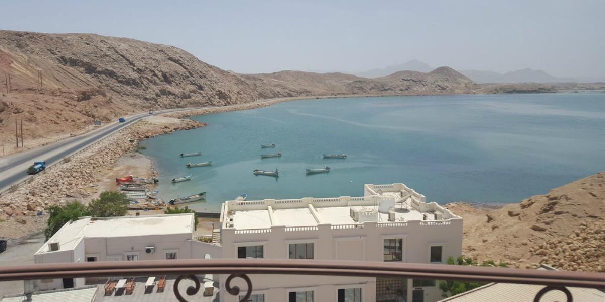 Al Ayjah Plaza Hotel – Pokój Standard z widokiem na zatokę