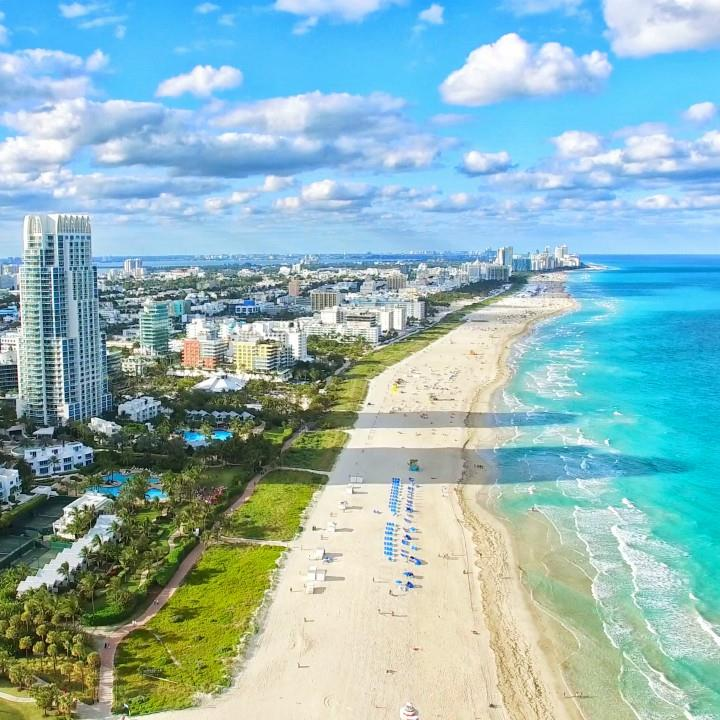 Plaże Miami