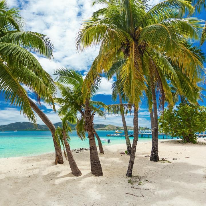 Przepiękne plaże Fidżi