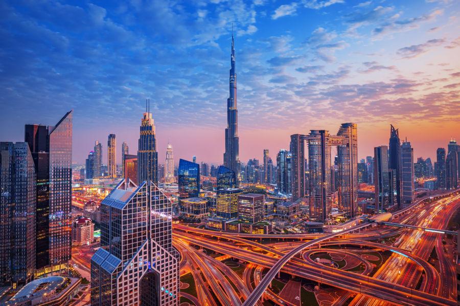 Dubaj - Skyline