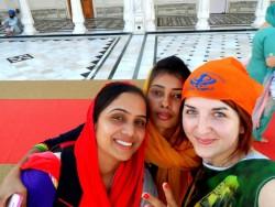Natalia w Indiach