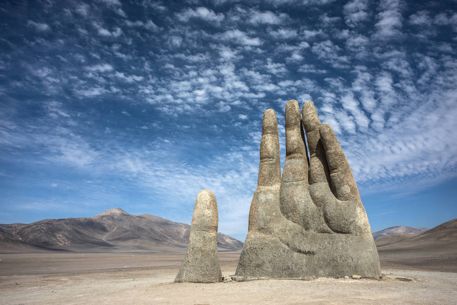 Mano del Desierto, Pustynia Atacama