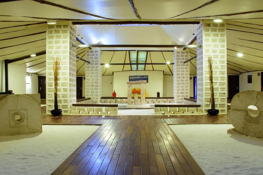 Hotel Palacio del Sal na Pustyni Atacama