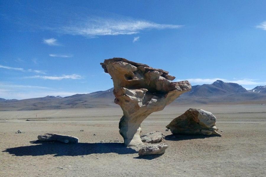 Arbol de Piedra, Pustynia Siloli