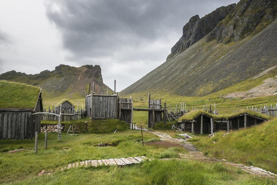 Hofn - wioska Wikingów