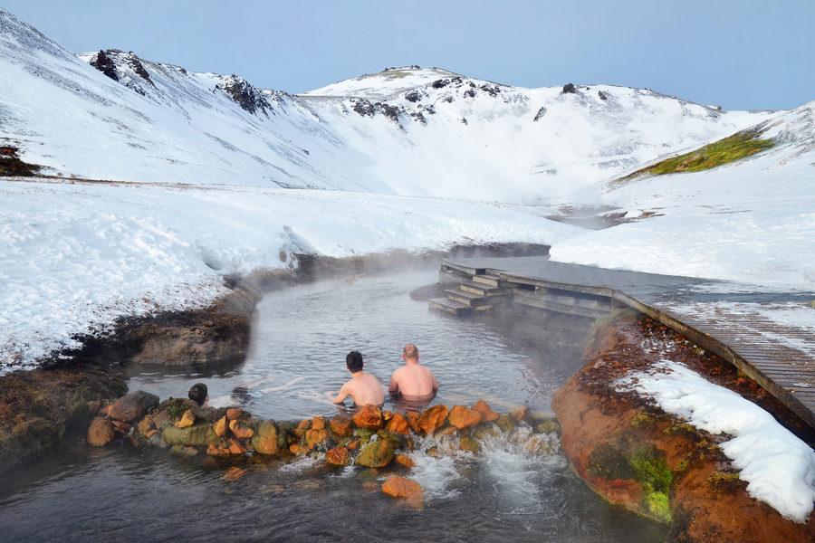 Gorące rzeki Islandii