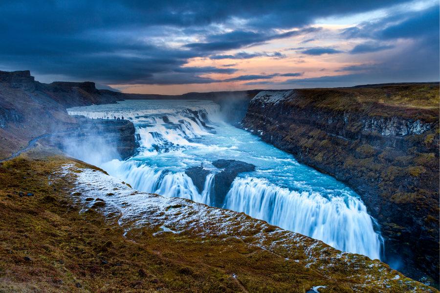 Złoty Krąg - wodospad Gulfoss