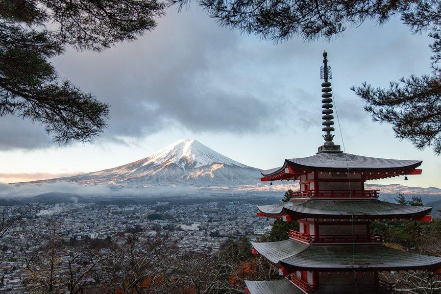 Góra Fuji, Japonia