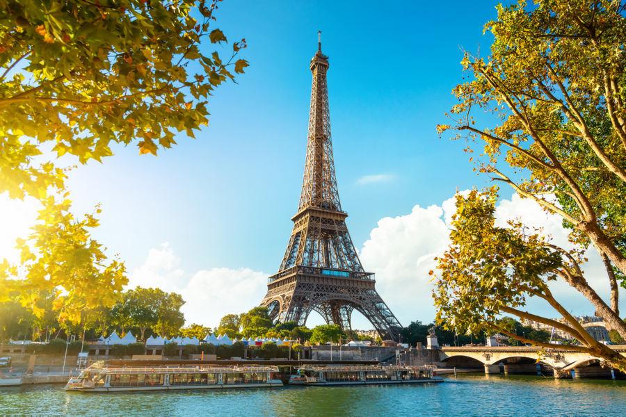 Francja - Paryż, Wieża Eiffla