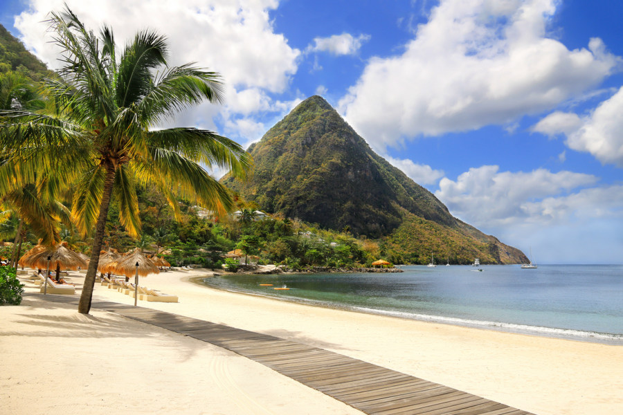 Saint Lucia - Soufriere Bay