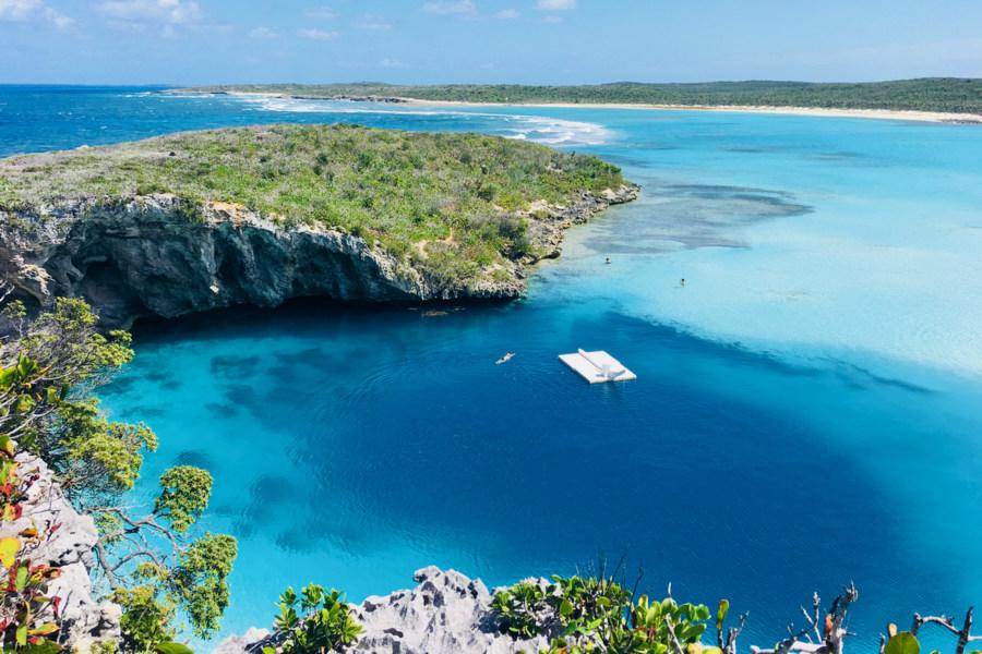 Bahamy - Dean's Blue Hole