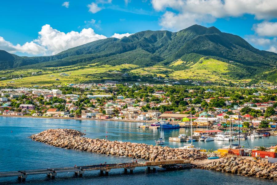Saint Kitts & Nevis - Basseterre, Port Zante