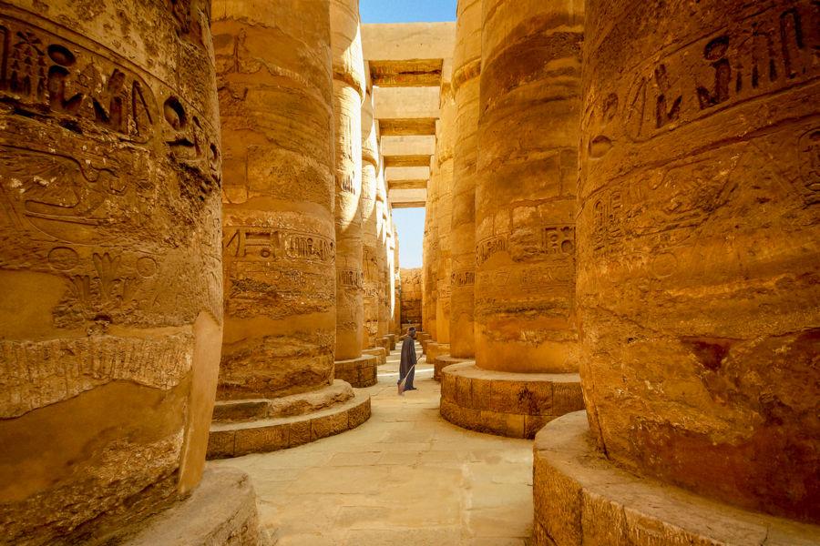 Karnak, Egipt